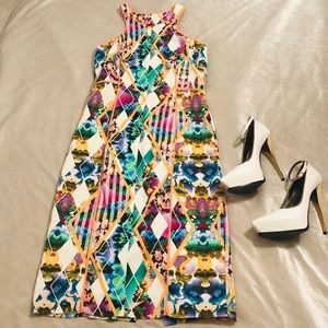 New MILLY Multi-Color Dress Sz6